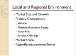 local and regional environment