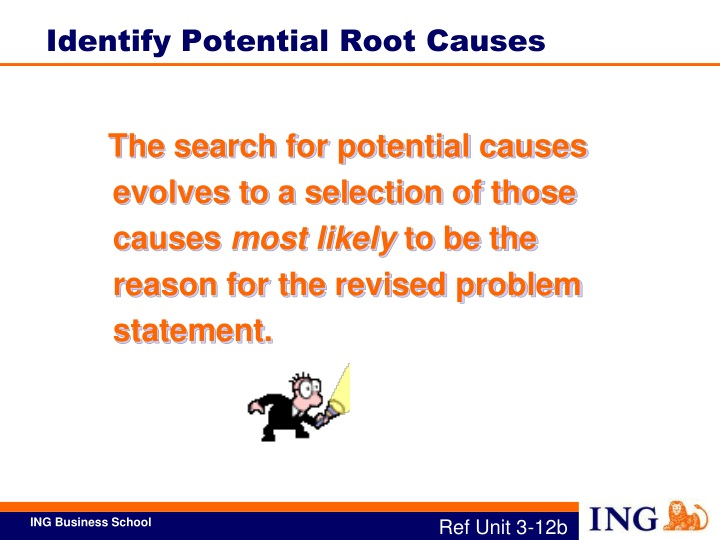 Identify Potential Root Causes