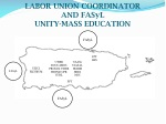 labor union coordinator and fasyl unity mass education