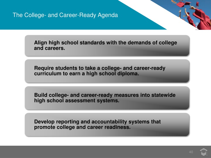 The College- and Career-Ready Agenda