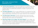 why college and career ready expectations for all