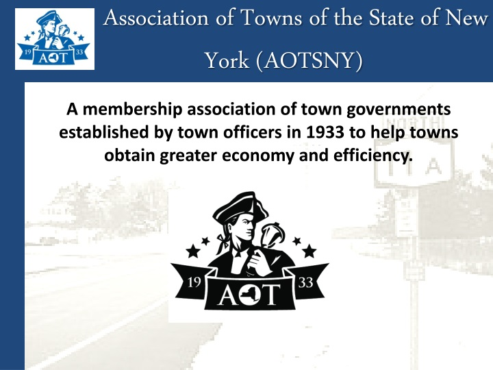 Association of Towns of the State of New York (AOTSNY)