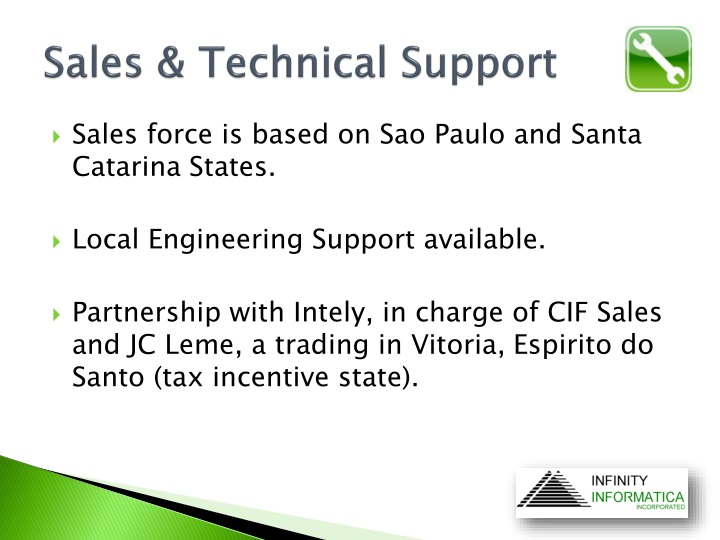 Sales & Technical Support