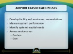 airport classification uses