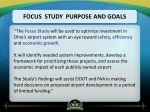 focus study purpose and goals