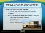 unique aspects of ohio s airports