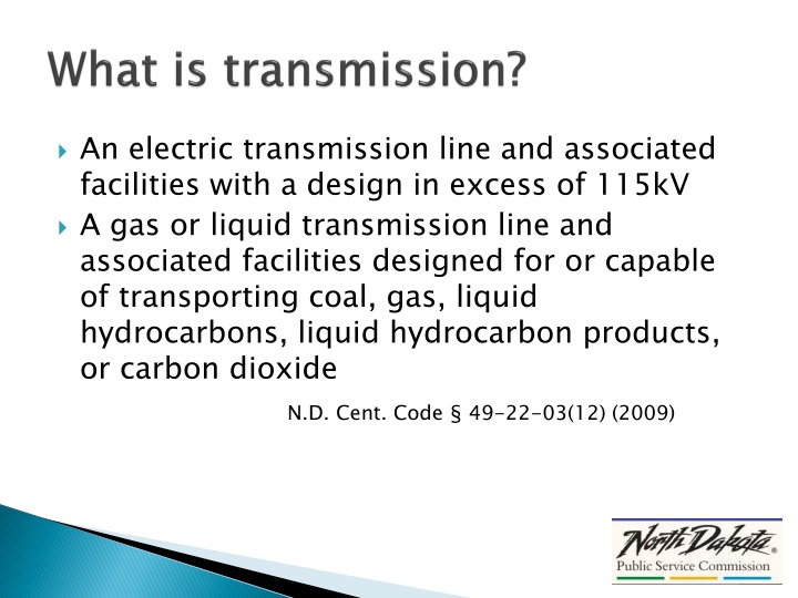 What is transmission?