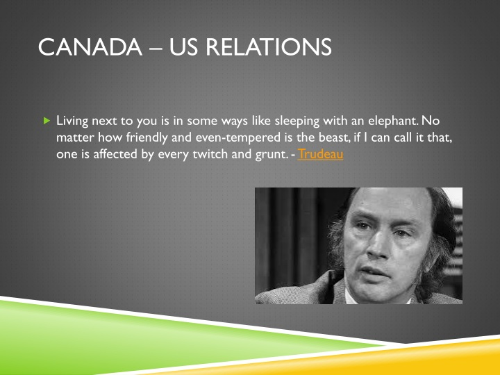 Canada – us relations