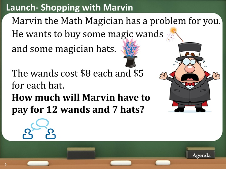 Launch- Shopping with Marvin