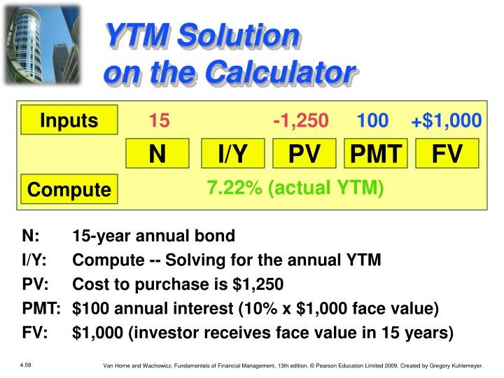 YTM Solution