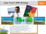 cape town s erp strategy
