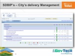 sdbip s city s delivery management