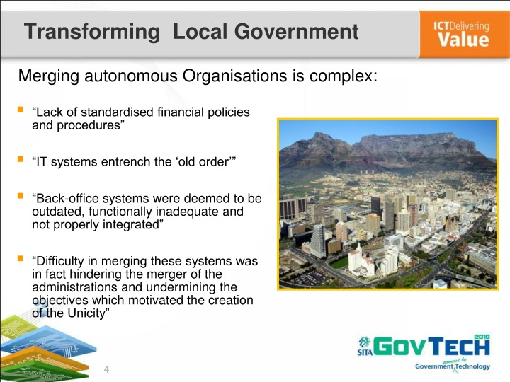 Transforming  Local Government