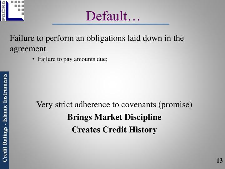 Default…