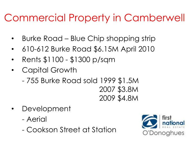 Commercial Property in