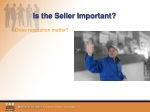 is the seller important