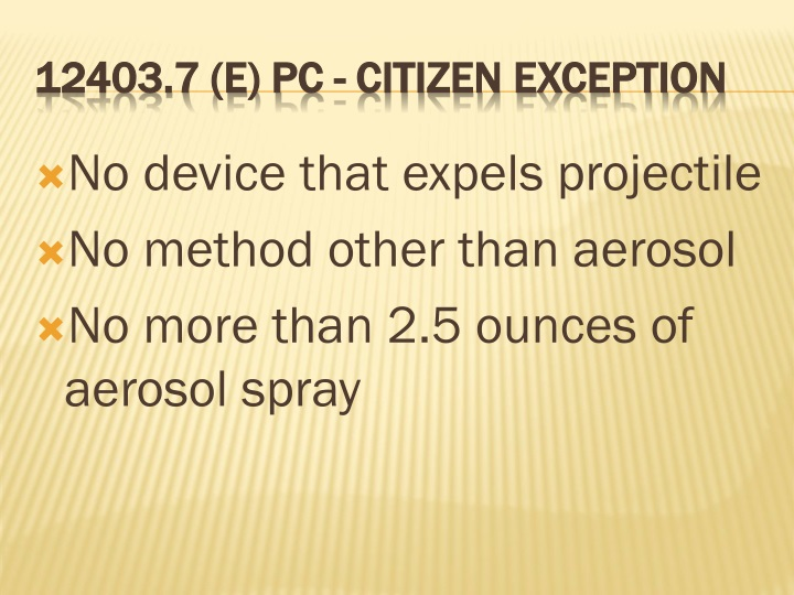 No device that expels projectile