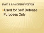 12403 7 pc citizen exception