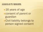 12403 8 pc minors