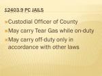 12403 9 pc jails