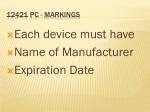 12421 pc markings