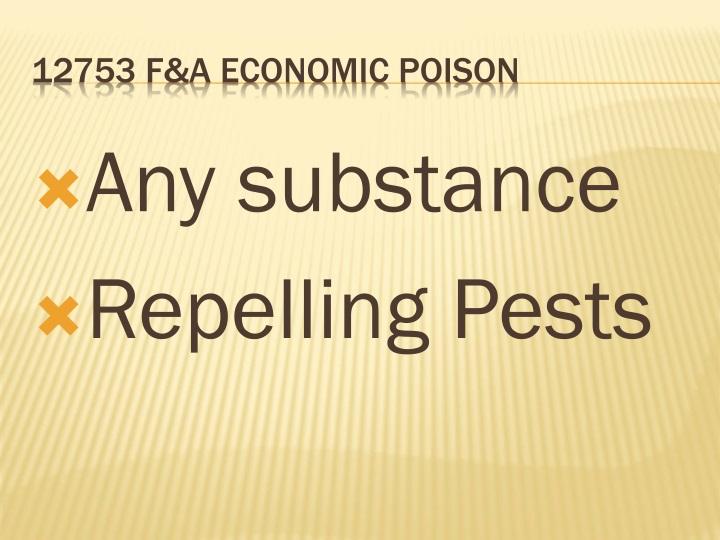 Any substance