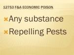 12753 f a economic poison