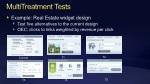 multitreatment tests