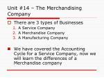 unit 14 the merchandising company1