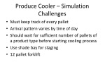 produce cooler simulation challenges