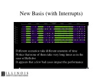 new basis with interrupts
