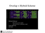 overlap hybrid scheme