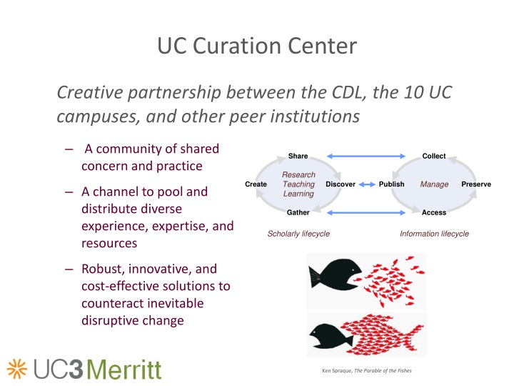 Uc curation center