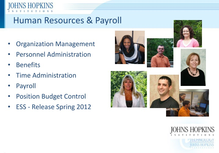 Human Resources & Payroll