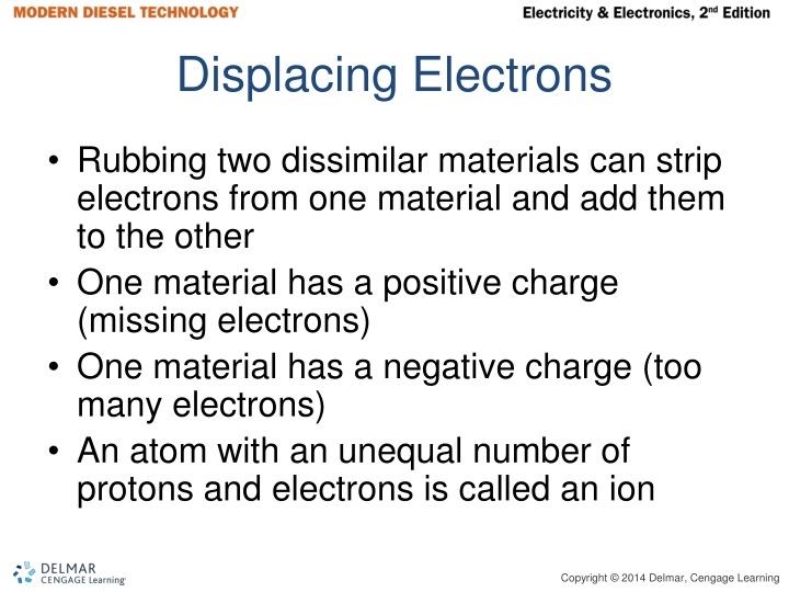 Displacing Electrons