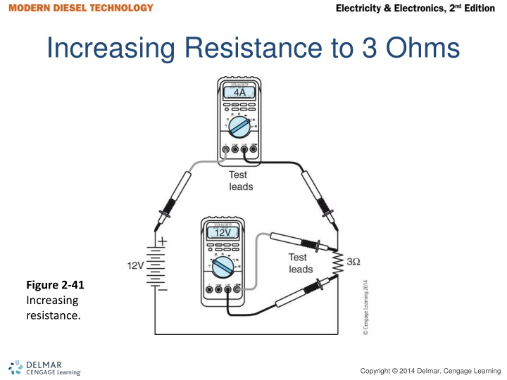 Increasing Resistance to 3 Ohms