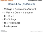 ohm s law continued