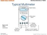 typical multimeter