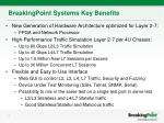 breakingpoint systems key benefits