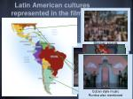 latin american cultures represented in the film