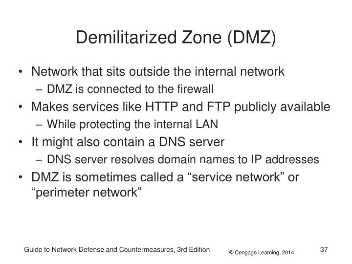 Demilitarized Zone (DMZ)