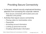 providing secure connectivity