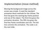 implementation move method