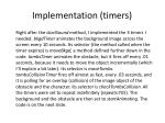 implementation timers