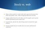 stock vs web