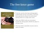 the free lance game