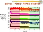 service traffic normal condition1