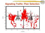 signaling traffic peer selection1
