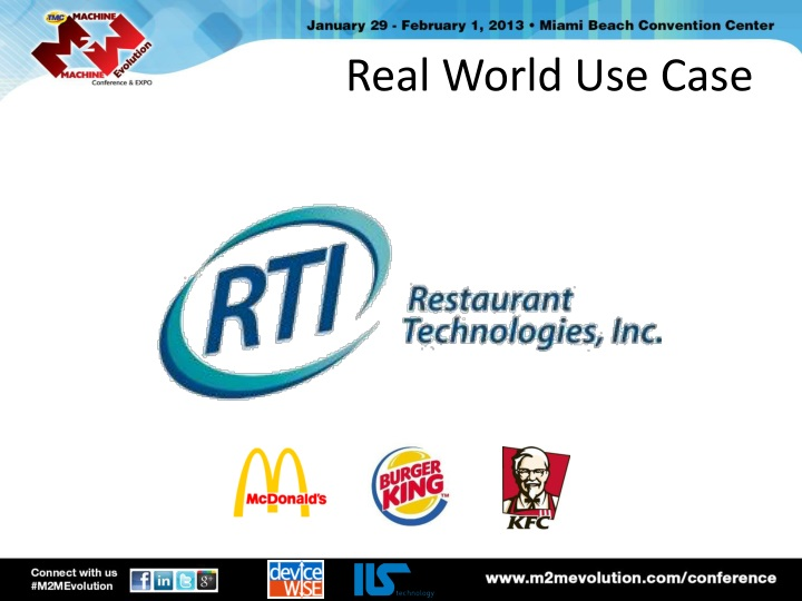 Real World Use Case