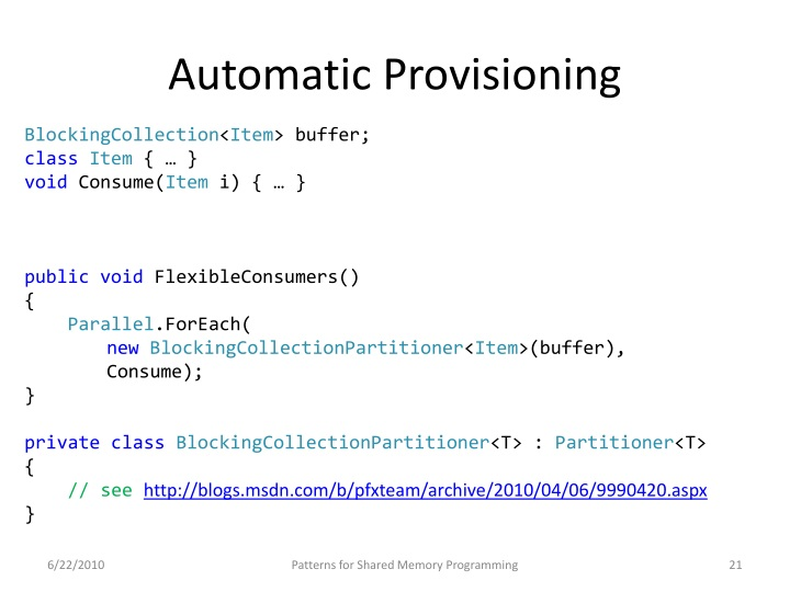 Automatic Provisioning